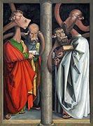 Le Apostele quatre - après Albrecht Dürer