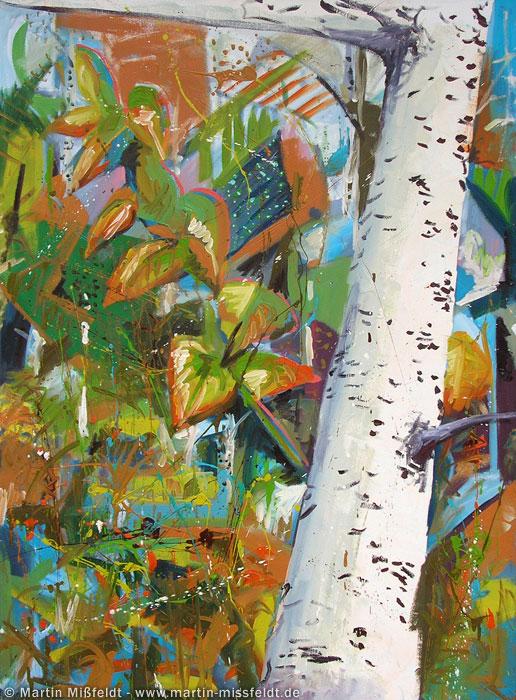 Couleur de l'automne avec les arbres