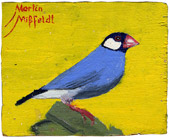 Oilpainting Blue Bird
