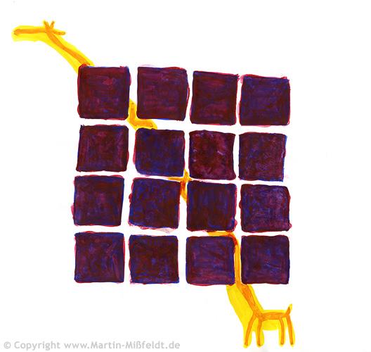 Girafe en prison