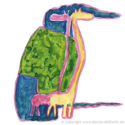 Les amateurs de girafe