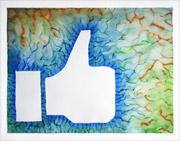 Facebooks pouces vers le haut l'énergie