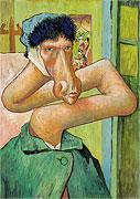 Autoportrait sans oreille - Vincent van Gogh
