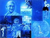 Bluepaintings - images bleues