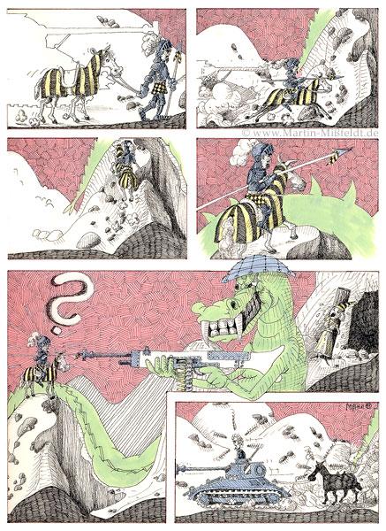 Saint Georg againt moderne dragon - page 2
