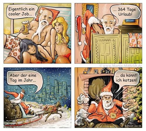L emploi fraîcheur du Père Noël