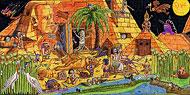 Haute culture époque: egypte