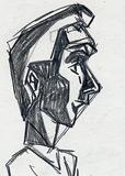 Griffonner un personnage comique dans le profil
