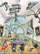 Semi Jeux Olympiques - Station spatiale - cercle composition