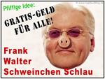 Frank-Walter Steinmeier (SPD) funny caricature