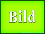 Image avec le mot BILD