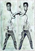 Double Elvis (après Andy Warhol)
