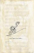 Équitation à vélo - après Marcel Duchamp