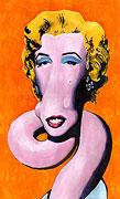 Tir Orange Marilyn (popart) - après Andy Warhol