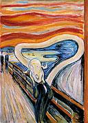 Le Cri (après Edvard Munch)