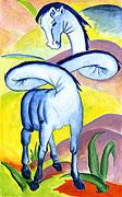 Cheval bleu - après Franz Marc