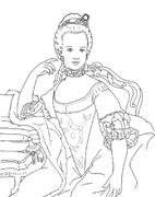 Marie-Antoinette (modèle couleur)