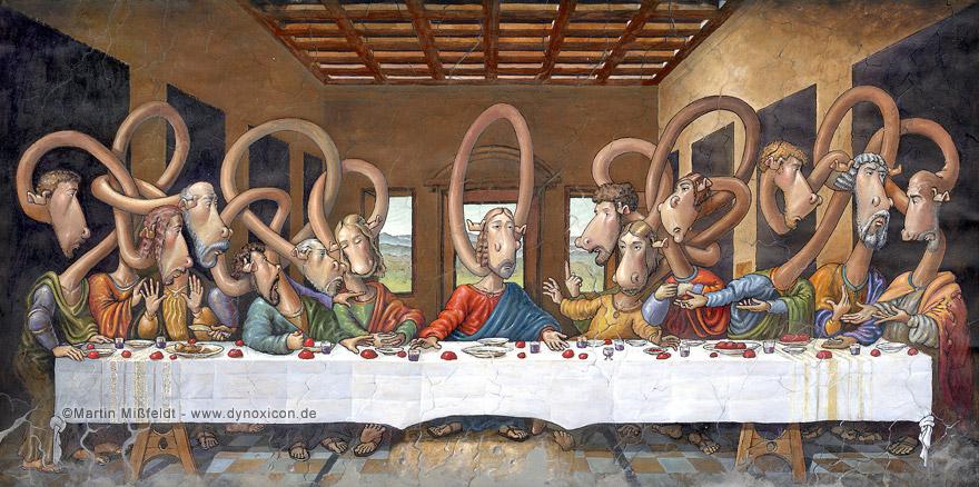 La Cène - après Léonard de Vinci