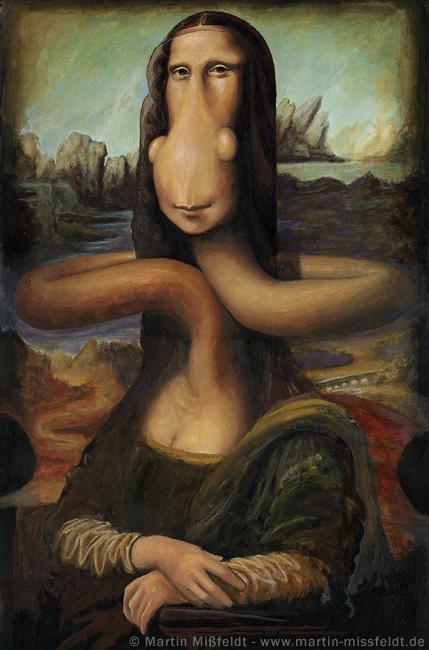 Mona Lisa après Léonard de Vinci
