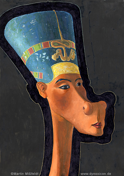 Nefertiti - egypte reine