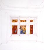 En dehors de la fenêtre