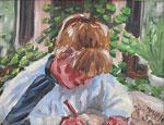 Peinture à l'huile peintures Maggi