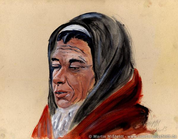 Portrait d'une vieille femme