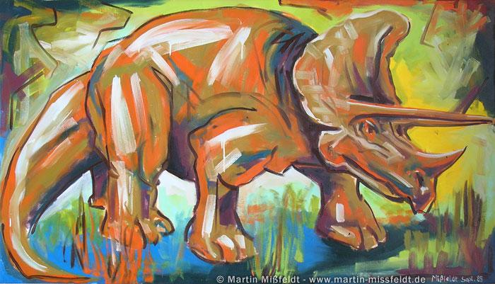 Triceratops dinosaur image