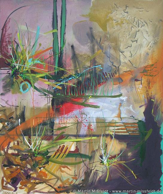Peinture à huile coucher de soleil