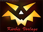 Halloween pumpkin moyen-template