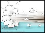Zosh ... rapide saut-écart nuage