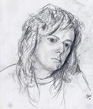 Portrait au crayon (Anja)