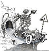 Cause de l'accident survenu à la fin du tunnel