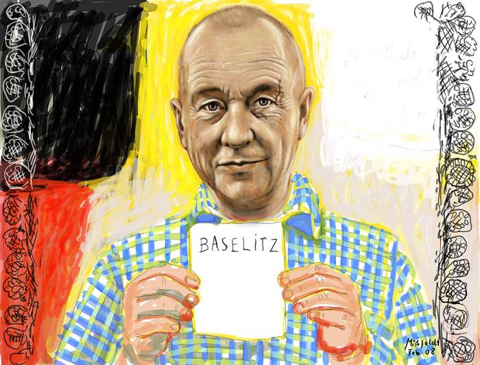 Georg Baselitz - peintre
