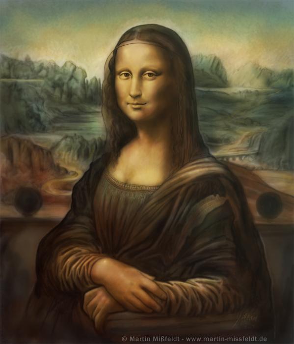 Mona Lisa vitesse-peinture