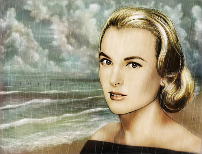Grace Kelly (film-Star) - la beauté de la nature
