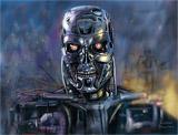 Terminator Nicolas Sarkozy - Speed ??painting