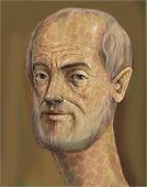 Aristote - peinture philosophie grecque