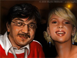 Scarlett Johannson et Gerald Steffens (Speedpainting)