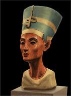 Nefertiti - belle reine de Eqypt - peinture numérique