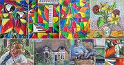 Peintures école (1985 - 1988)